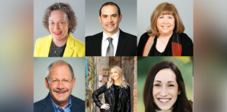 Jewish Federation to Fete 6 Leaders for Devoted Service