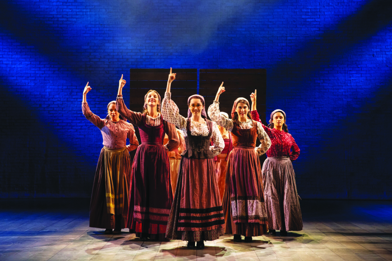 Fiddler on the Roof touring cast from the production that was here in March 2020,