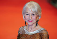 Helen Mirren arrives at the Berlinale International Film Festival in Berlin, Feb. 27, 2020.