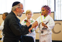 Rabbi Elimelech Goldberg, known to the kids as Rabbi G., founded Kids Kicking Cancer in 1999. He and his wife lost their first child, a daughter, to leukemia in 1981 at age 2.