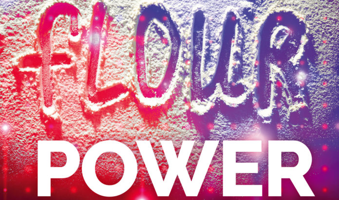 Flour Power Graphic