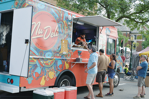 Hebrew Free Loan helped get the Nu Deli food truck on the road.