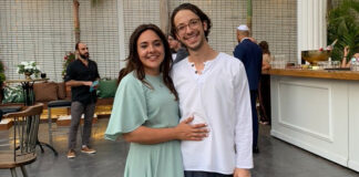Rachel and Yosef Gross immigrated to Israel in February 2020, and due to the pandemic, Rachel was unable to fly to Chicago to visit her cancer-stricken father before his death in February 2021. But Gross says she has no misgivings about moving to Jerusalem.
