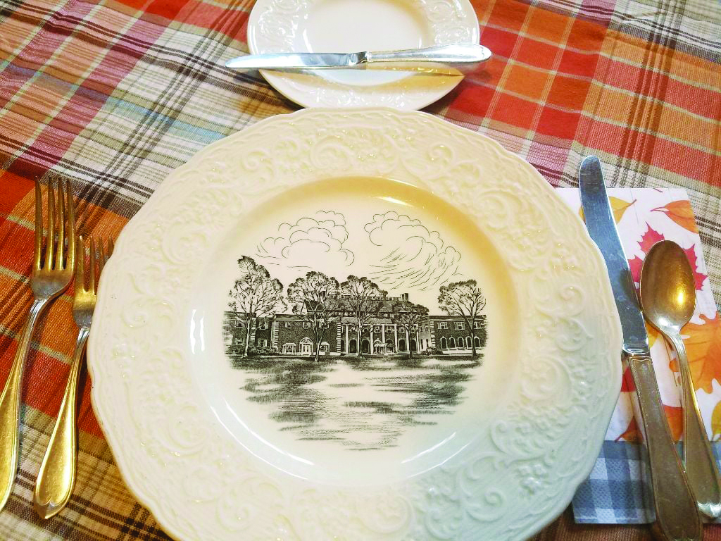 A place setting at the Dearborn Inn