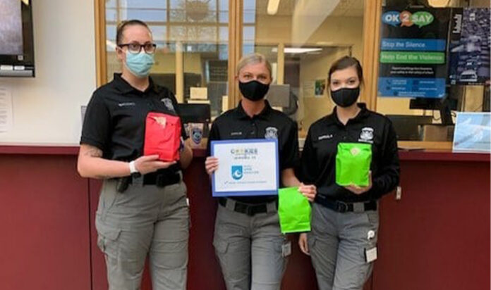West Bloomfield Police received treats made by teens at Temple Shir Shalom.