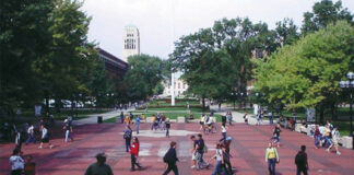 University of Michigan's Central Campus.