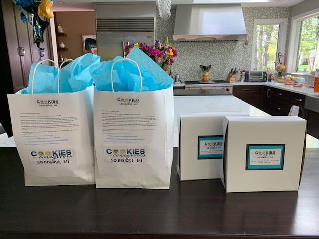 Cookies for Caregivers Package