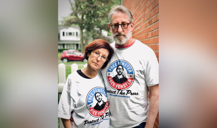Danny Fenster's parents, Rose and Buddy
