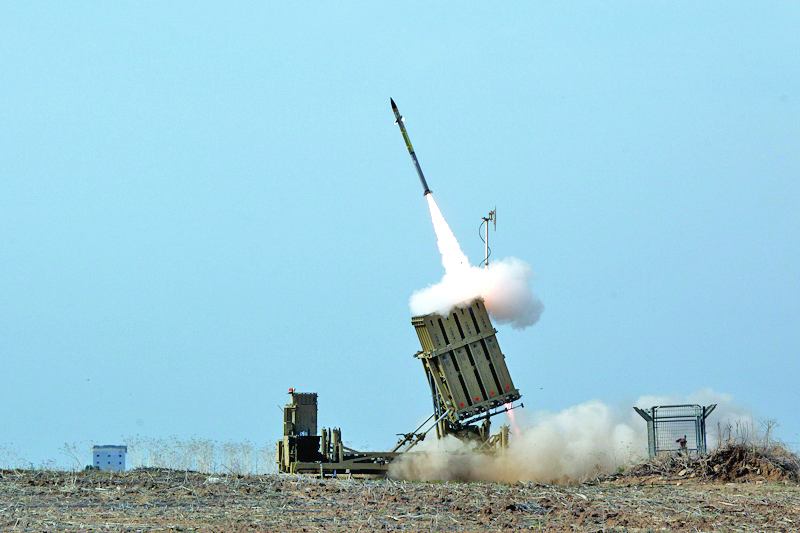 Iron Dome launches an interceptor during Operation Pillar of Defense.