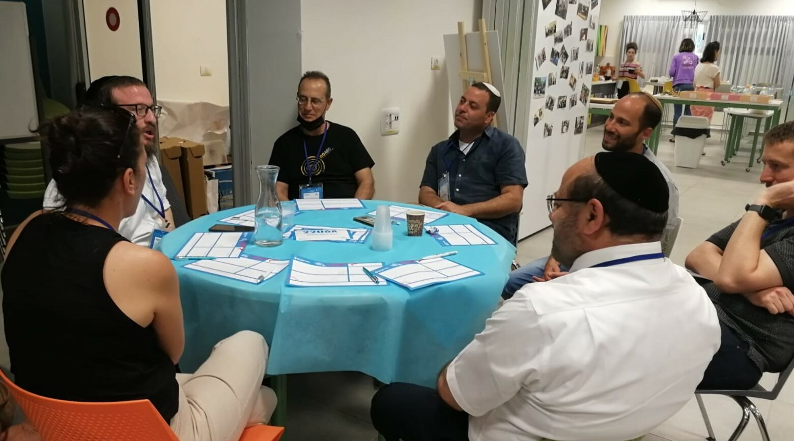 At Co.Lab, Israelis from diverse ethnic and religious backgrounds meet and talk to learn about each other's communities and collaborate on programs to build a more cohesive society.