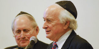 Carl and Sander Levin in 2010