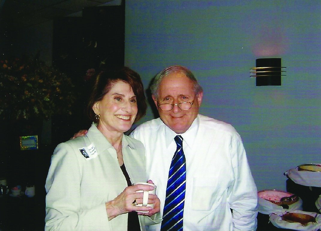 Sen. Carl Levin with longtime JCRC/AJC board member, Micki Grossman, of blessed memory, from JCRC/AJC archives.