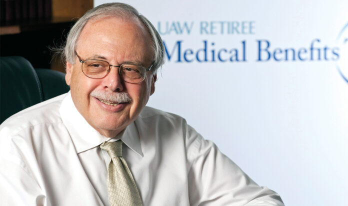 Bob Naftaly is the founding chair of the UAW Retiree Medical Benefits Trust.