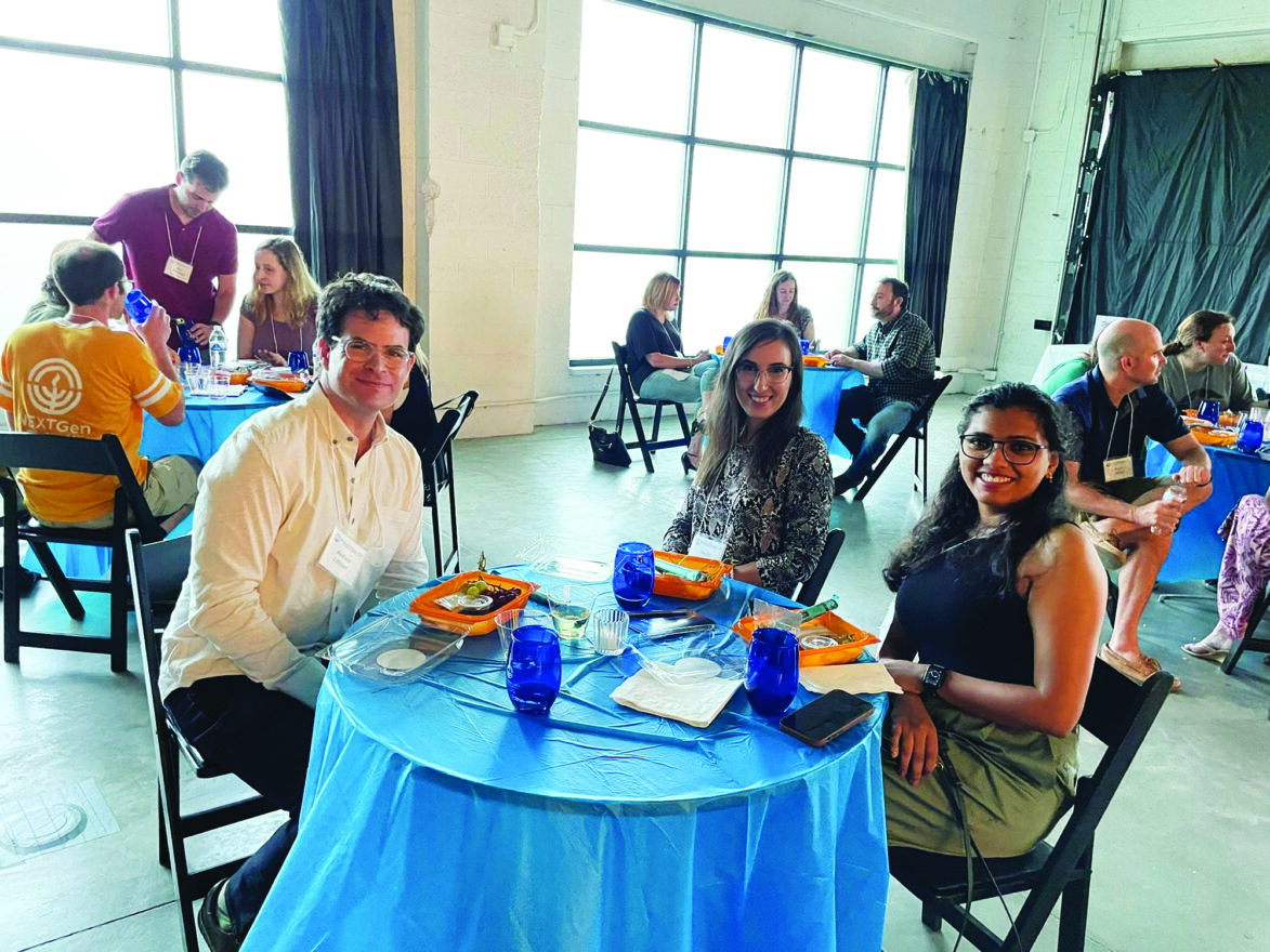 Young adults gathered to sample wine and learn about Detroit's Partnership2gether Region in Royal Oak on Aug. 11.