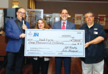 Yad Ezra will receive $1,000 in Danny's name.