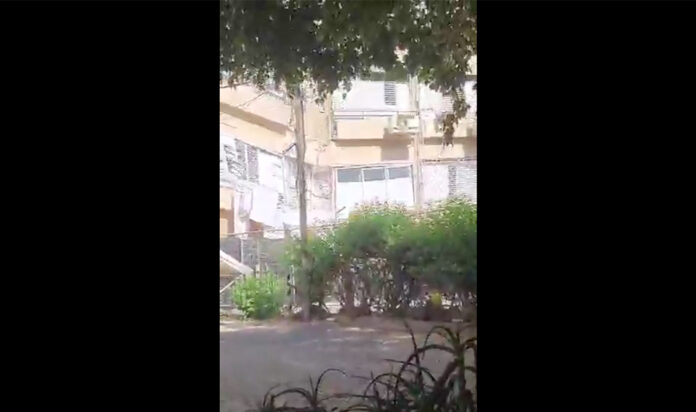 An apartment building in Holon collapsed just a day after being evacuated.