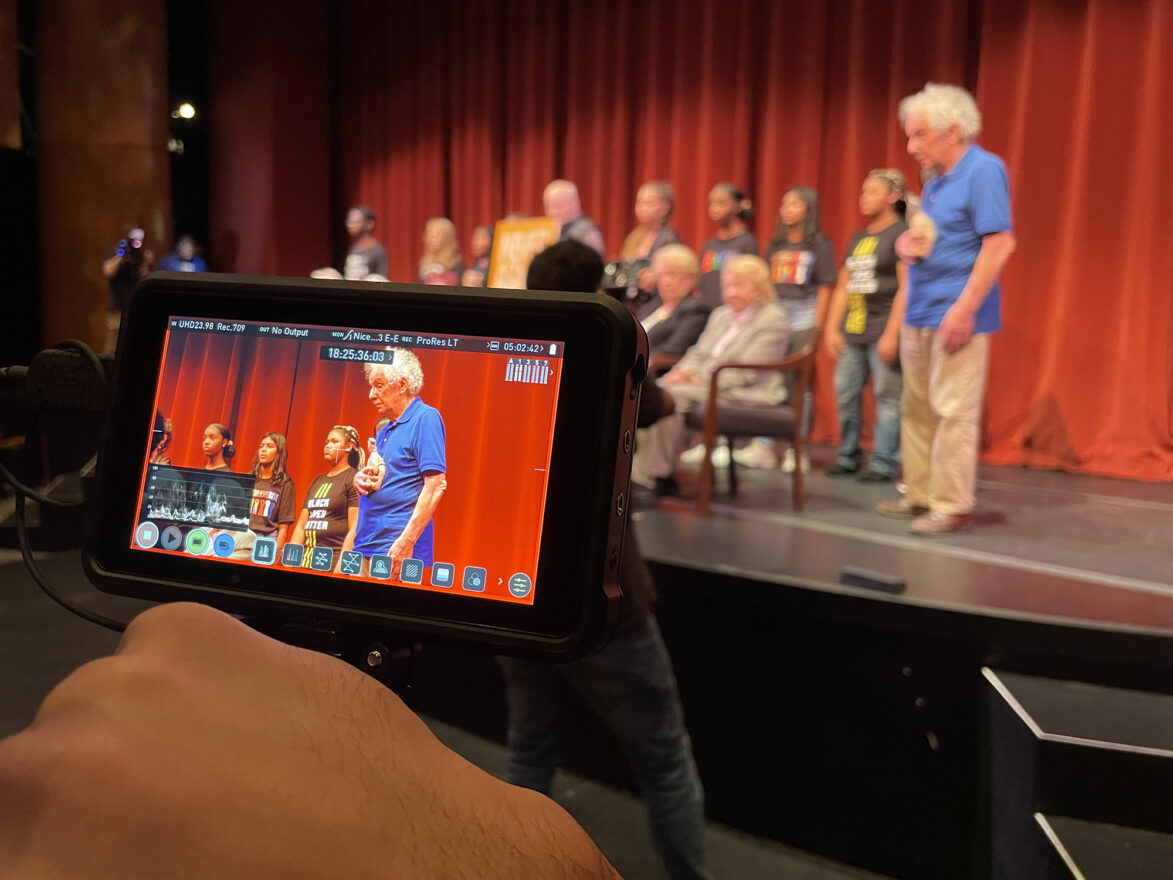 Camera focuses on Holocaust survivor Fred Lessing, subject of award-winning short film Bear and Fred.