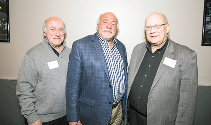 Phil Horowitz, Howard Waxer and Mark Voight at a 2017 event.