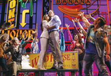"""A scene from the current production of """"Pretty Woman: The Musical."""""""